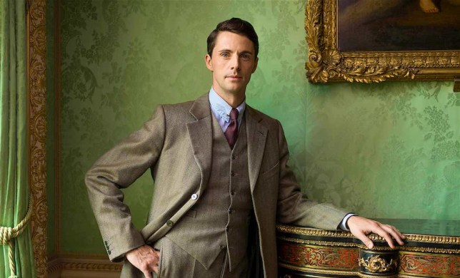 Matthew Goode in Downton Abbey (Picture: ITV)