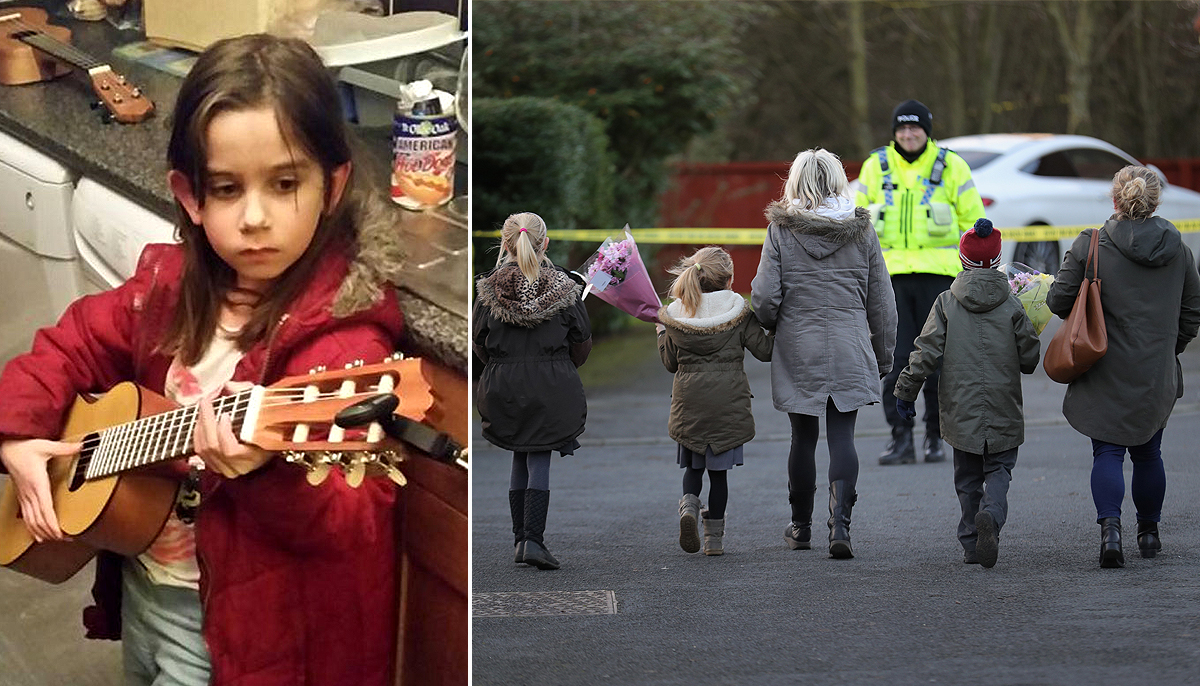 Katie Rough murder: Seven-year-old 'was reported missing by parents before body was found'