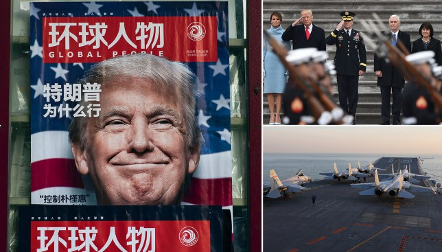 War with the US becoming a practical reality, China says Picture: Getty Images