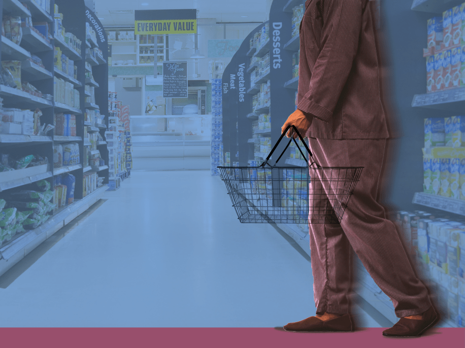 In defence of wearing your pyjamas to the supermarket