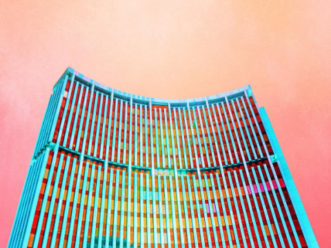 This Instagram account is dedicated to epic candy-coloured architecture