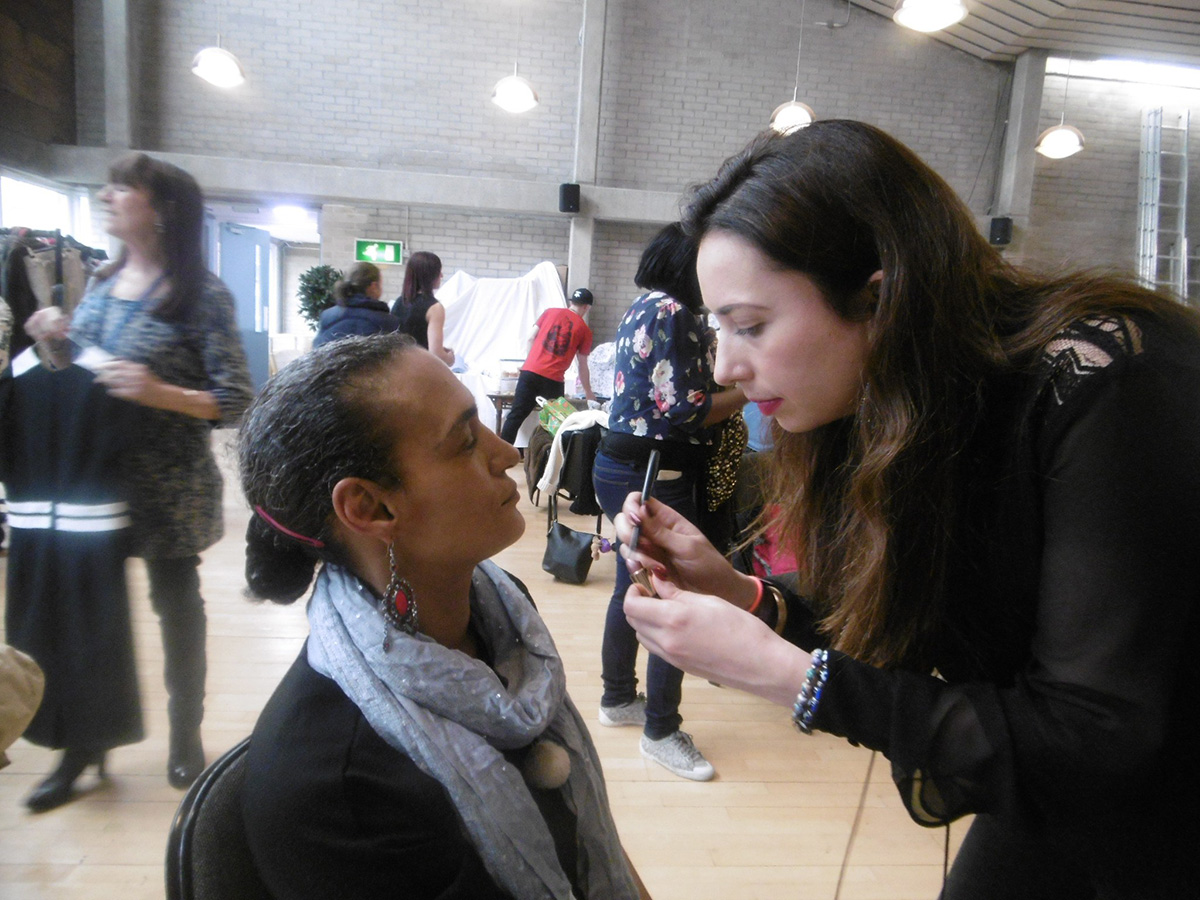 Londoner gives homeless women free makeovers to 'regain their dignity' Credit: The Whitechapel Mission