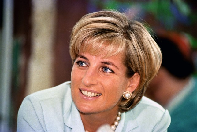 Diana, the Princess of Wales during her visit to Leicester, to formally open The Richard Attenborough Centre for Disability and Arts. 27/05/1997 Picture: John Stilwell/PA Photoso