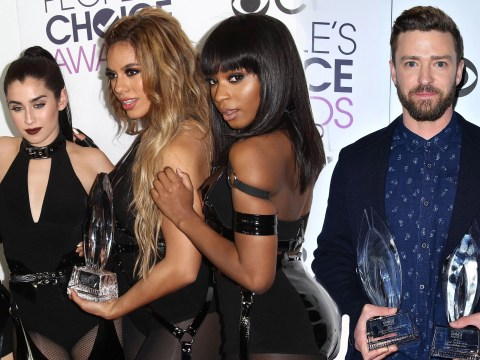 Niall Horan, Fifth Harmony and Justin Timberlake scoop Peoples Choice Awards