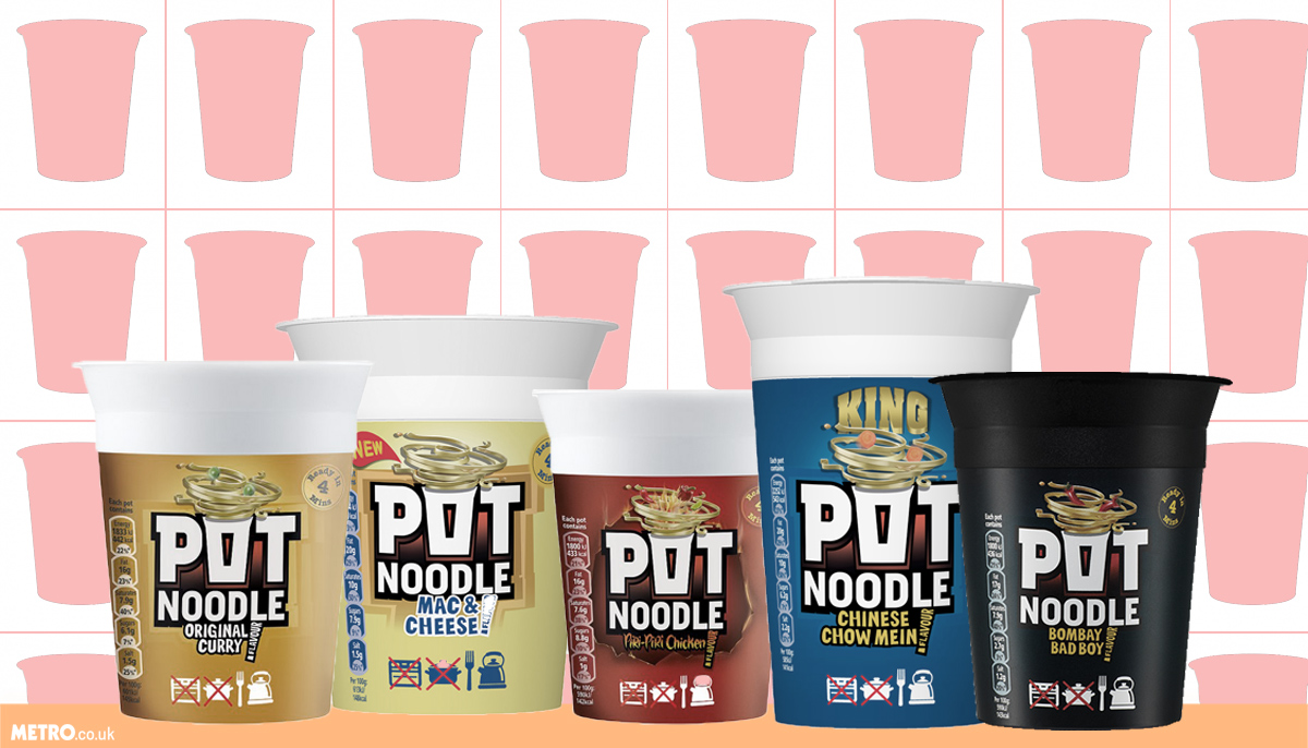 Pot Noodles ranked from worst to best (James Brinsford) Credit: Metro