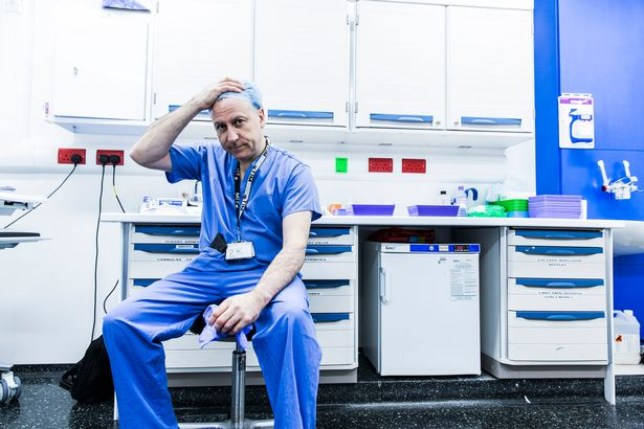 Whose life do we save? Harrowing documentary highlights NHS in crisis as doctors forced to choose between cancer patient or OAP bleeding to death