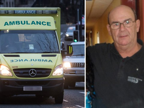 Pensioner bled to death after waiting more than an hour for ambulance