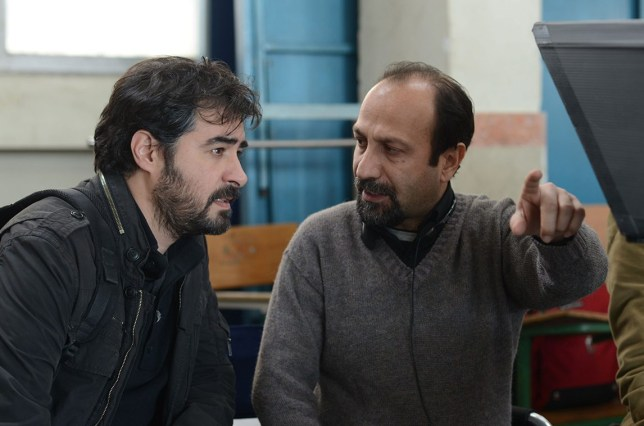 Director Asghar with star Shahab Hosseini (Picture: Arte France Cinéma/REX/Shutterstock)