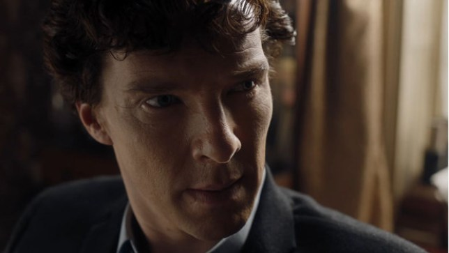 Benedict Cumberbatch faced his sister in The Final Problem (Picture: BBC)