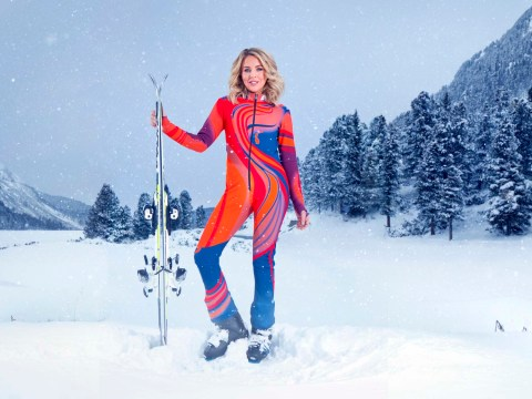 Lydia Bright admits 'early signs of frostbite' during her training for The Jump