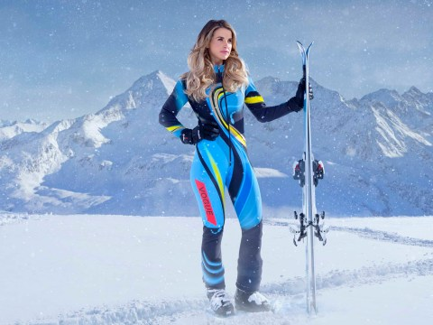Vogue Williams quits The Jump with a knee injury – before the series has even begun