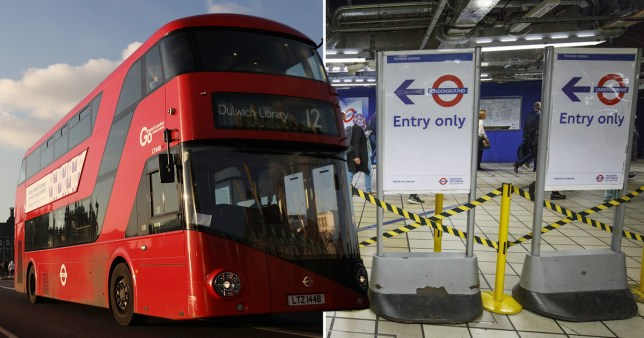 (Picture: getty) How to get around during this weekend's Tube Strike