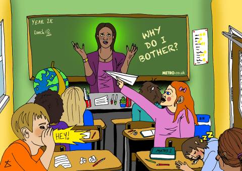 19 things all teachers say and what they actually mean