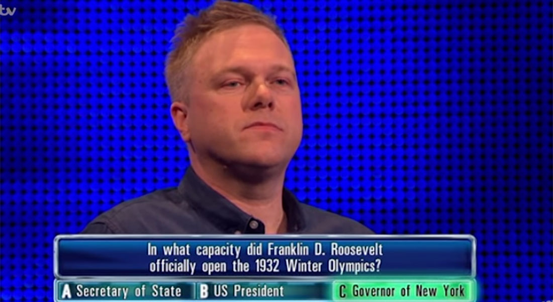 The Chase's viewers might have just found their favourite contestant of all time