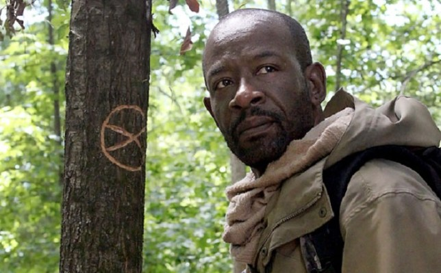 Lennie James plays Morgan in The Walking Dead (Picture: AMC/Fox)