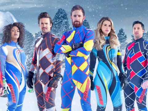 First pictures from the new series of The Jump will remind you just how good famous people look in tight lycra