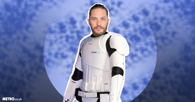 (Picture: Metro/ getty) Tom Hardy addresses those Stormtrooper rumours
