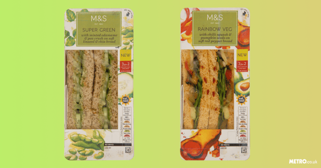 M&S launch vegan sandwiches