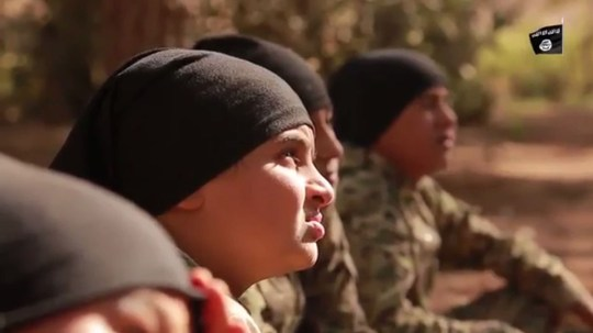 (Picture: Youtube) Why ISIS have started using children in their execution videos