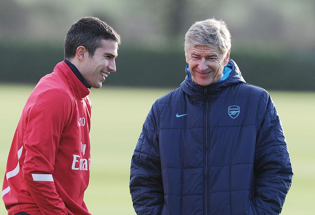 Rio Ferdinand reveals Robin van Persie's scathing inside take on Arsenal