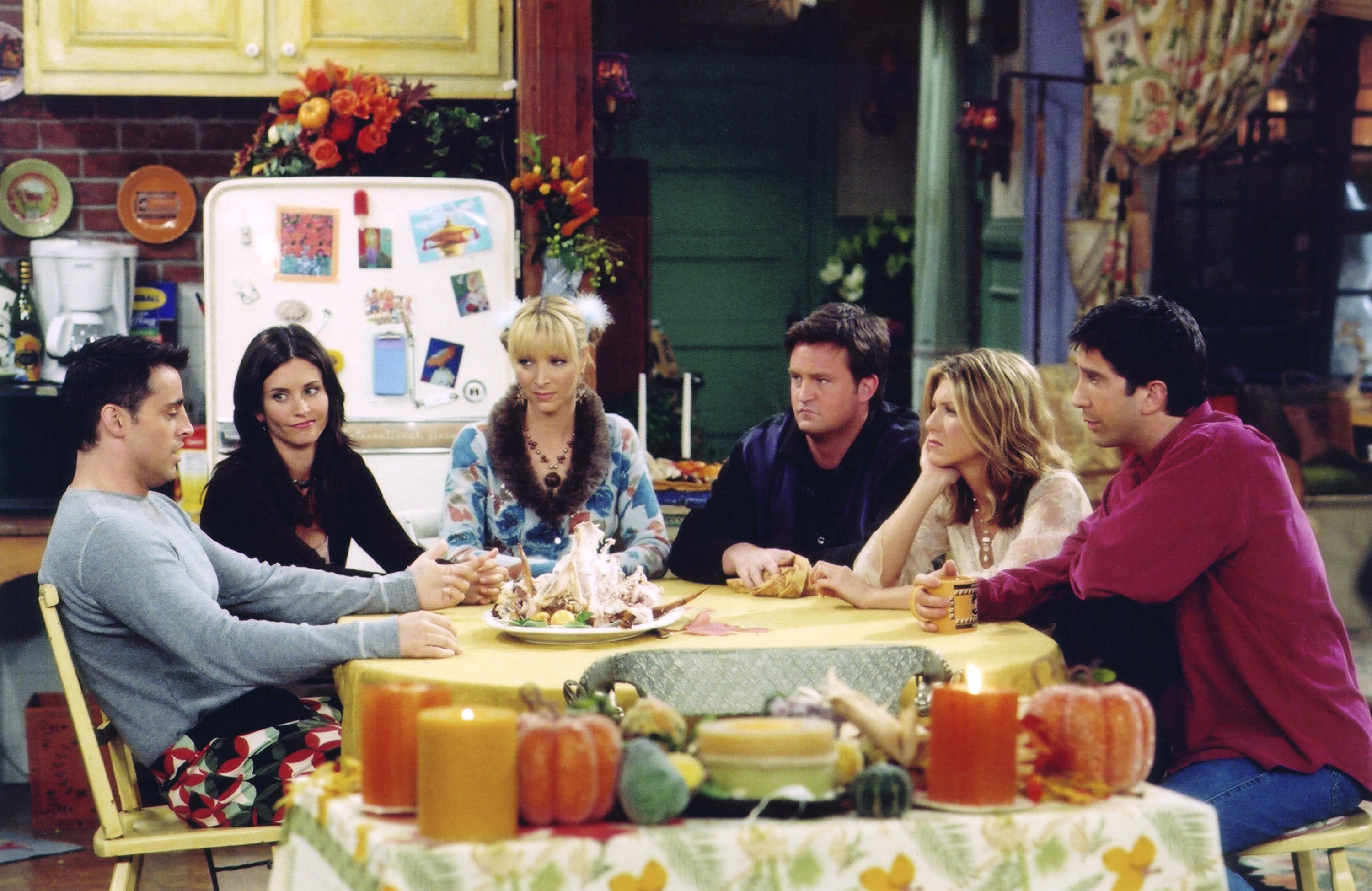 Matthew Perry says there was 'no sex' between any of the Friends cast