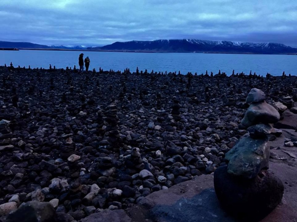 Walk down to the harbour in Reykjavik, Iceland, to take in the rock formations and stunning untouched mountainscapes (Photo: Imogen Groome)