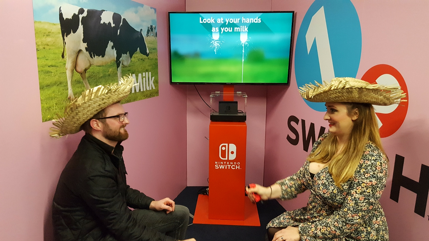 Milking the Switch event for all it's worth