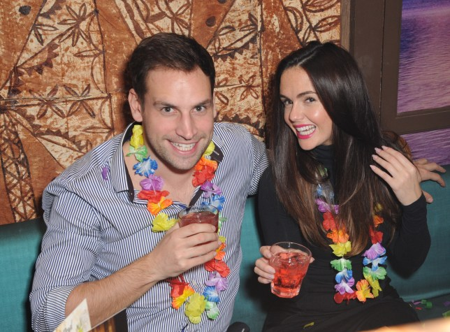 PORTSMOUTH, UNITED KINGDOM - NOVEMBER 30: Greg Lake and Jennifer Metcalfe attend the Kanaloa Winter Cocktails launch on November 30, 2013 in Portsmouth, England. (Photo by David M. Benett/Getty Images for Kanoloa)