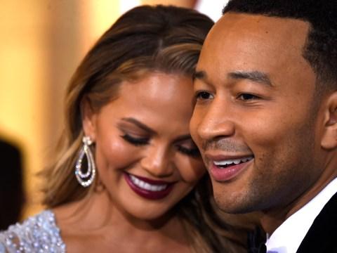 Chrissy Teigen ribs husband John Legend for not winning an Oscar this year