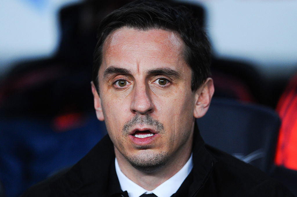 Gary Neville goes on Arsenal Fan TV, gets trolled by Angry Claude immediately