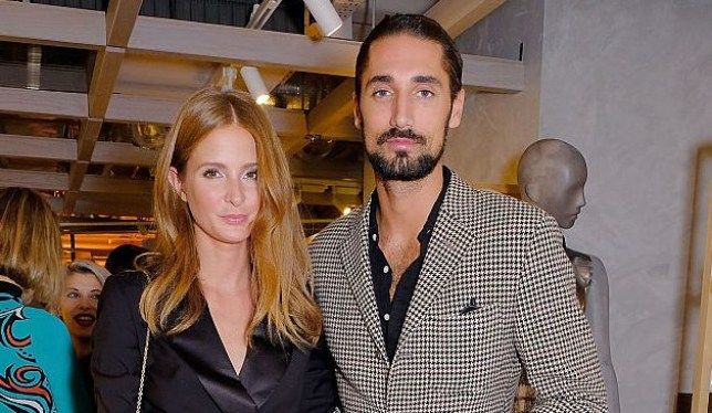 LONDON, ENGLAND - DECEMBER 08: Hugo Taylor and Millie Macintosh attend as Taylor Morris Eyewear and The Morgan Motor Company present their first collaboration at Harvey Nichols on December 8, 2016 in London, England. (Photo by David M. Benett/Dave Benett/Getty Images)