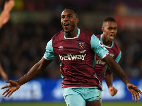 Manchester United and Chelsea target Michail Antonio not sure if he'll stay at West Ham