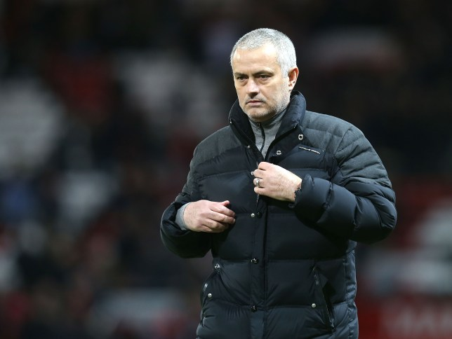 MANCHESTER, ENGLAND - FEBRUARY 01: Manager Jose Mourinho of Manchester United walks off after the Premier League match between Manchester United and Hull City at Old Trafford on February 1, 2017 in Manchester, England. (Photo by Matthew Peters/Man Utd via Getty Images)