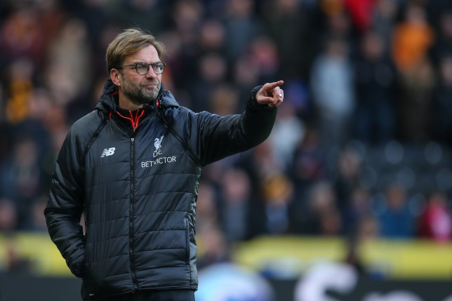 HULL, ENGLAND - FEBRUARY 04: Jurgen Klopp manager / head coach of Liverpool during the Premier League match between Hull City and Liverpool at KCOM Stadium on February 4, 2017 in Hull, England. (Photo by Robbie Jay Barratt - AMA/Getty Images)