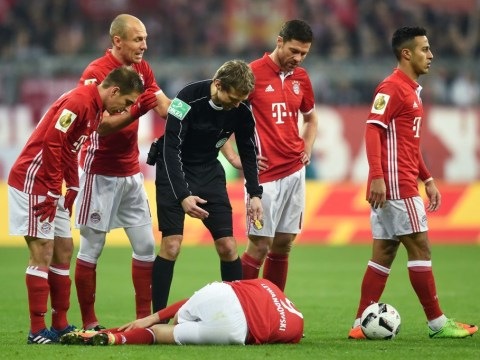 Arsenal receive huge boost as Bayern Munich star Xabi Alonso suffers injury blow