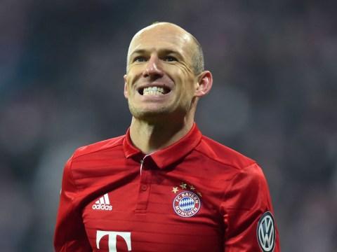 Bayern Munich star Arjen Robben admits he's bored of playing Arsenal