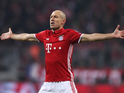 Arsenal, take note: Arjen Robben says he has more than one trick