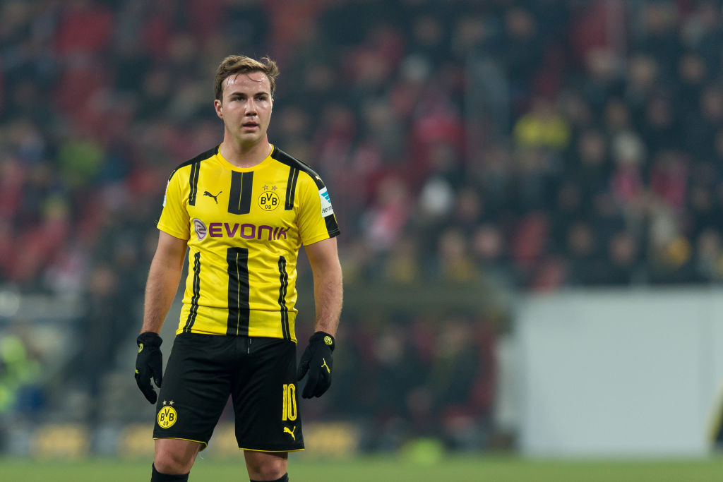 Liverpool open talks to seal Mario Gotze transfer from Borussia Dortmund