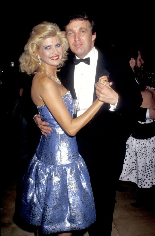 Ivana And Donald Trump Wedding 1977.Ivana Pens Book About Trump Marriage And Reveals He Offered Czech