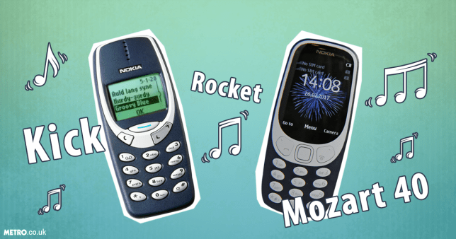 Reviewing the Nokia 3310 ringtones Credit: Getty Images