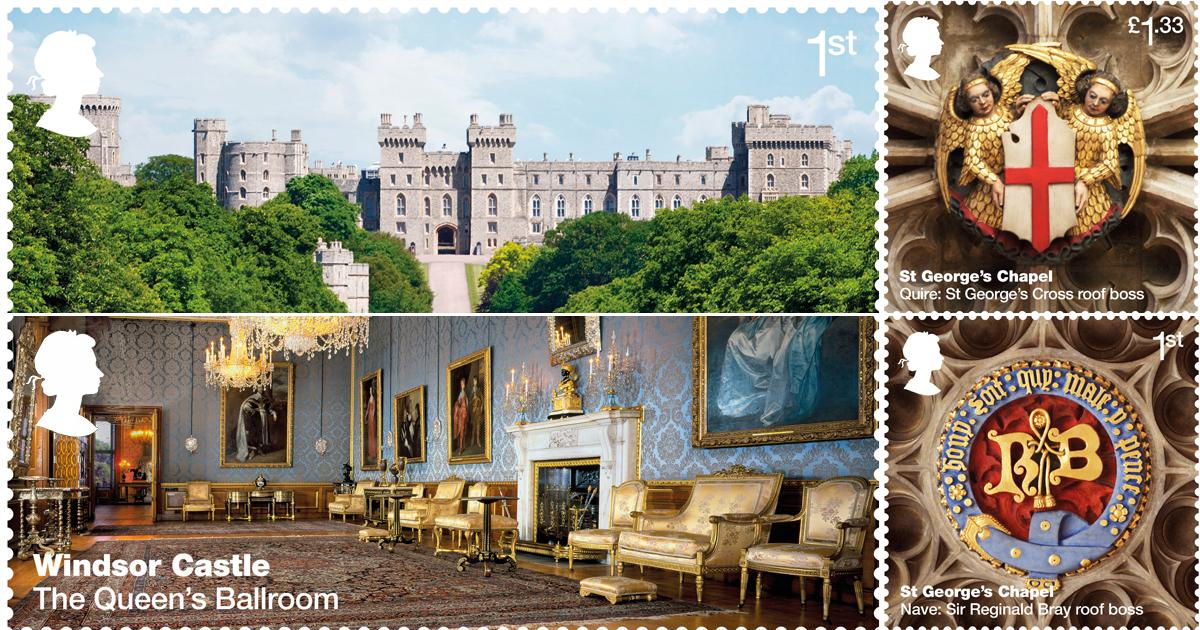 New Royal Mail stamps (embargoed) Credit: Royal Mail/PA