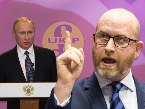 UKIP tells Vladimir Putin to 'bot out' of Stoke by-election