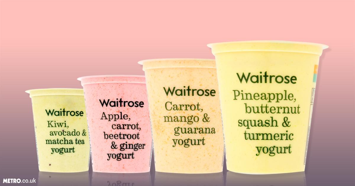 Waitrose is now doing vegetable yoghurts Credit: Waitrose