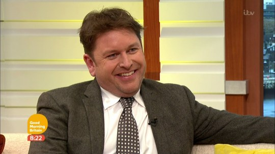 James Martin promoes his new TV show 'ames Martin's French Adventure' on 'Good Morning Britain'. Broadcast on ITV1HD Featuring: James Martin When: 01 Feb 2017 Credit: Supplied by WENN **WENN does not claim any ownership including but not limited to Copyright, License in attached material. Fees charged by WENN are for WENN's services only, do not, nor are they intended to, convey to the user any ownership of Copyright, License in material. By publishing this material you expressly agree to indemnify, to hold WENN, its directors, shareholders, employees harmless from any loss, claims, damages, demands, expenses (including legal fees), any causes of action, allegation against WENN arising out of, connected in any way with publication of the material.**