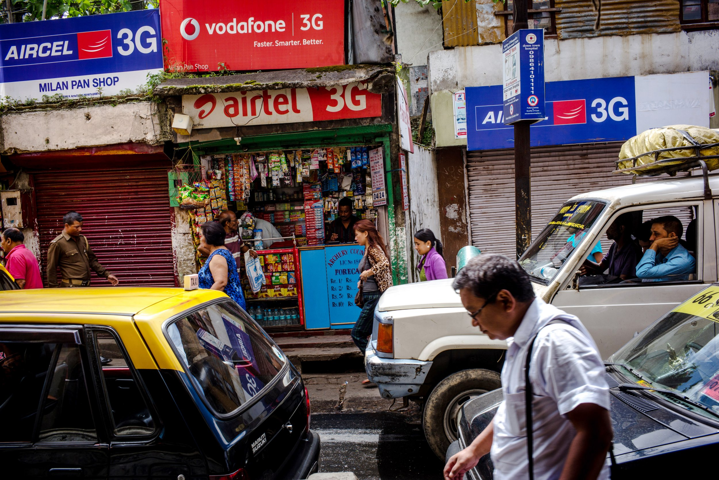 Mobile recharge stores are selling phone numbers of girls in India (Getty) Pedestrians walk past a mobile phone store in Shillong, Meghalaya, India, on Wednesday, Aug. 10, 2016. India's inflation accelerated more than estimated in July, narrowing room for monetary easing as investors wait to see who will replace hawkish central bank Governor Raghuram Rajan next month. Photographer: Sanjit Das/Bloomberg via Getty Images