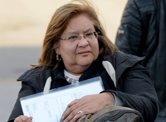 """Dated: 03/02/2017 FRAUDSTER FOILED BY MICHAEL JACKSON SONG ... Maribel Milligan arrives at Teesside Court today, where she was jailed for three years after claiming more than £500,000 worth of benefits which she was not entitled to, but was caught out when footage emerged of her dancing to Michael Jackson's song """"Bad"""" despite claiming she could not move her arms. See story and video by North News"""