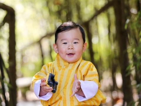 Step aside, George and Charlotte: The Prince of Bhutan is our new favourite royal baby