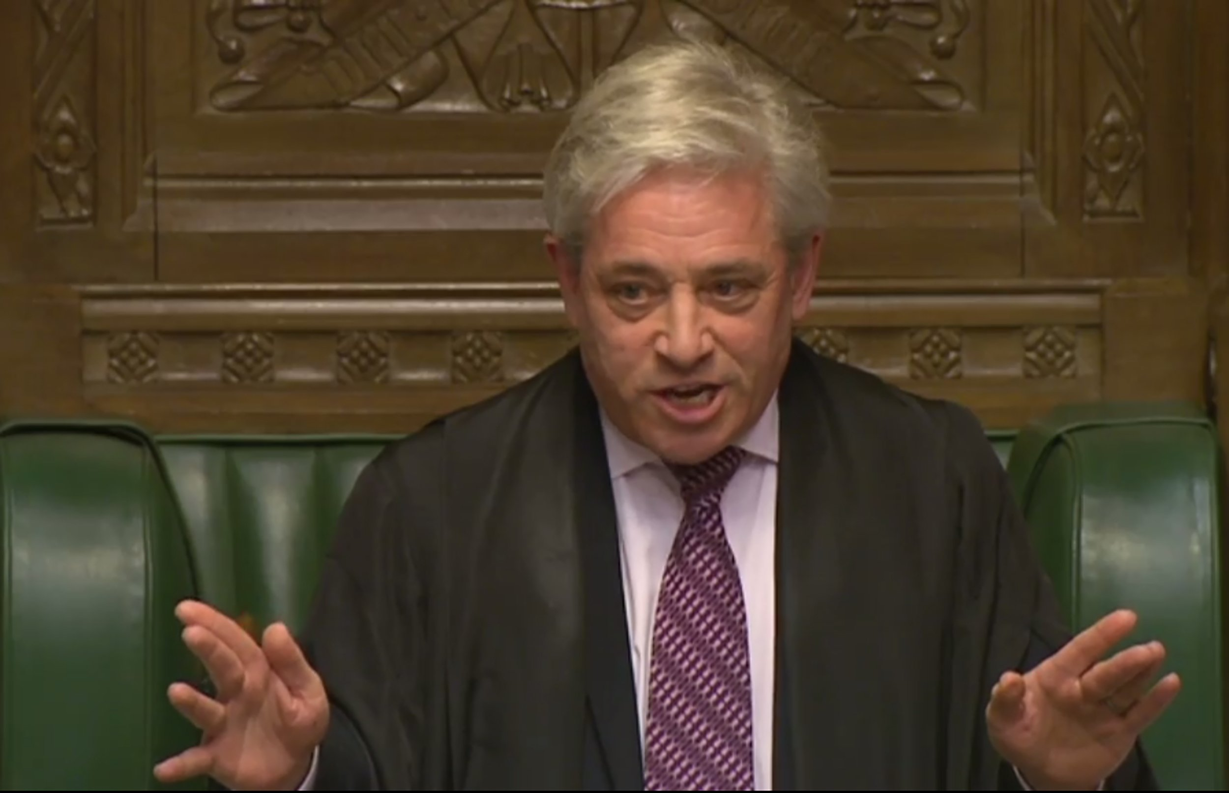 Not everybody is happy with John Bercow saying Donald Trump shouldn't address Parliament