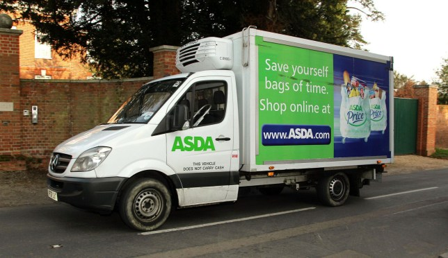 "File photo dated 25/03/12 of an Asda delivery van, as the supermarket has apologised to customers and taken ""immediate action"" to improve standards across its home shopping services after a whistleblower raised concerns about poor hygiene."
