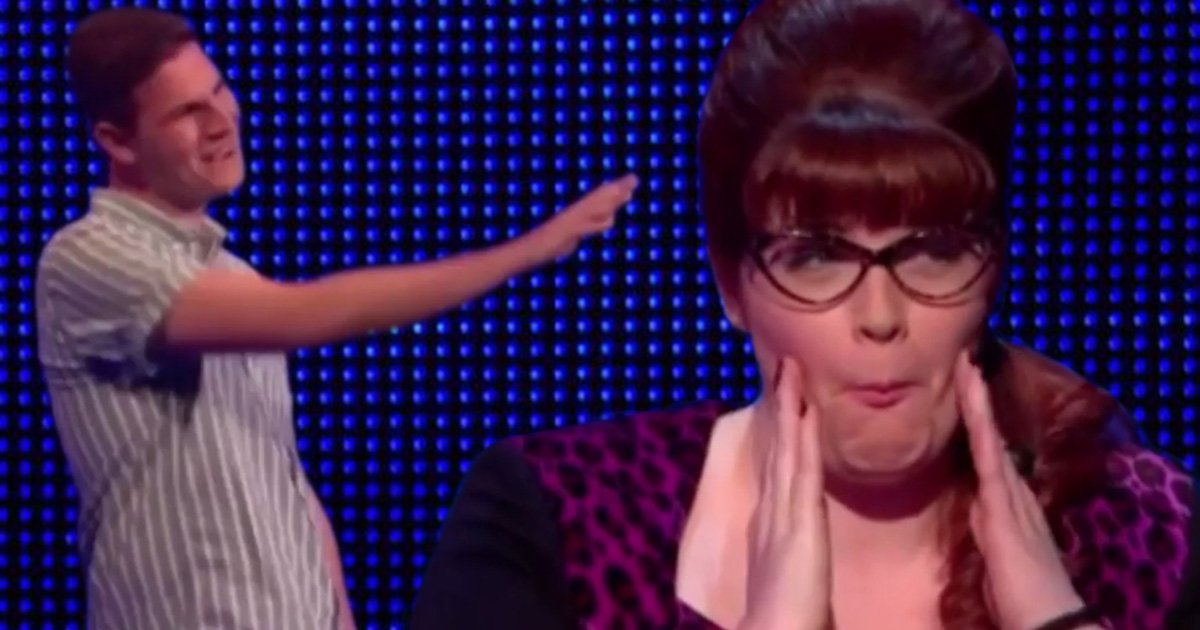 Bradley Walsh jumps to Jenny Ryan's defence as contestant on The Chase calls her 'chubby cheeks'